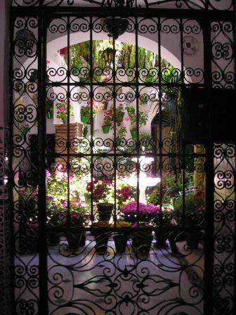 Patio tipico andaluz