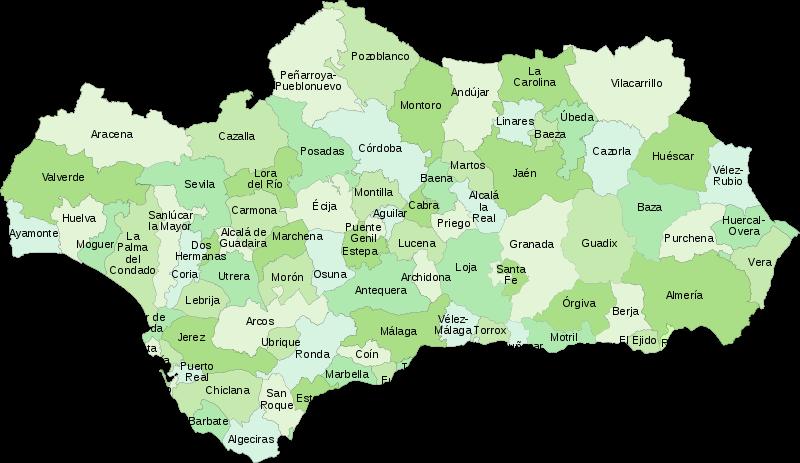 Pueblos turisticos de Andalucia