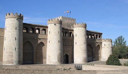 Las Cortes de Aragón residen en el Palacio de la Aljafería