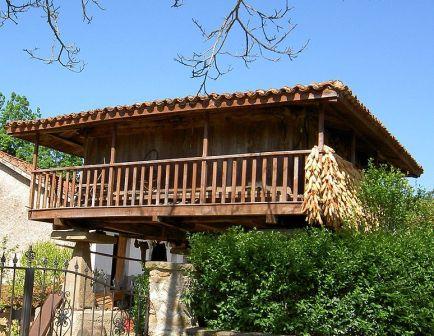 Arquitectura Popular: el hórreo asturiano