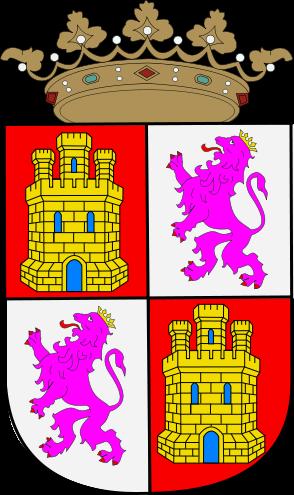 emblema o blasón de Castilla y León