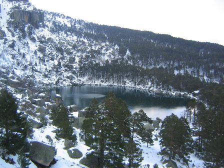 la Laguna Negra, en los Picos de Urbión