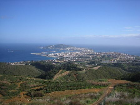 Ceuta es una ciudad española y europea en el norte de África