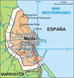 Melilla es una ciudad autónoma de España