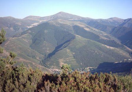 Monte San Lorenzo cumbre mas alta de la rioja