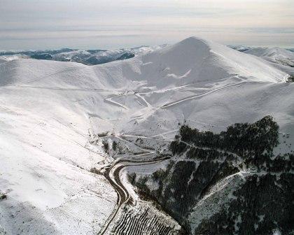 En la Rioja se encuentra La estación de esquí de Valdezcaray