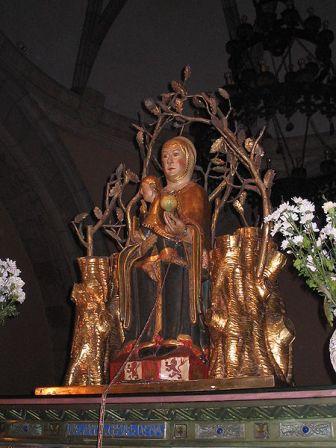 La Virgen de Valvanera