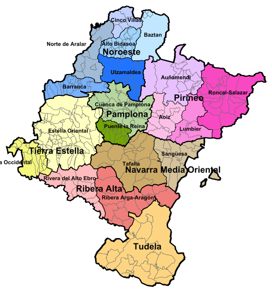 Comarcas de Navarra