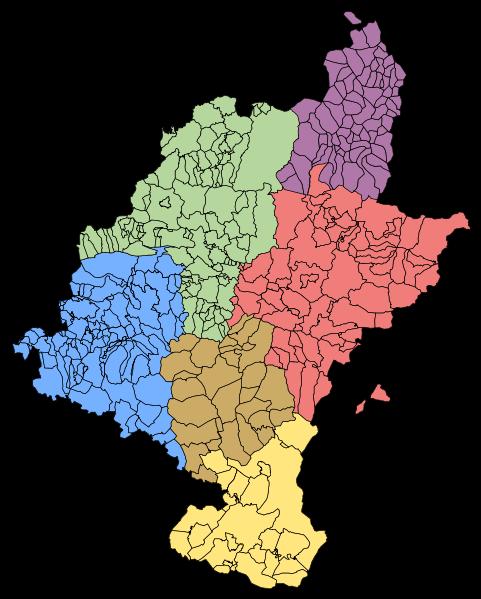 Merindades históricas de Navarra