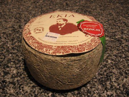 El queso Roncal de la Mancomunidad del Valle del Roncal