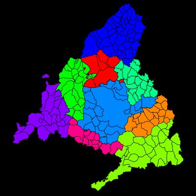 Comarcas de Madrid