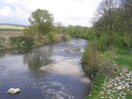 El Manzanares es el río que cruza madrid