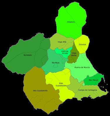 comarcas de murcia