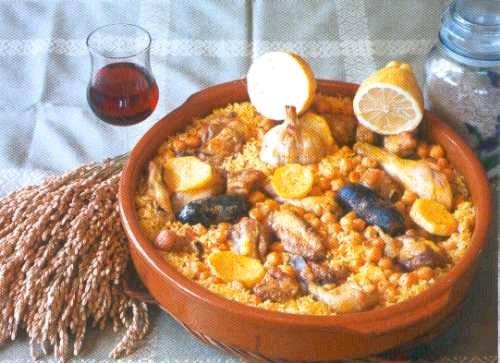 arroz al horno o arròs al forn