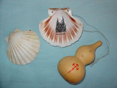 símbolo del Camino de Santiago, y de sus peregrinos