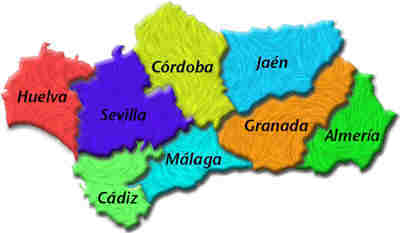 pueblos Andalucia
