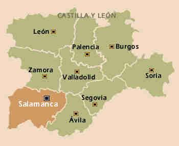 Mapa Castilla Leon