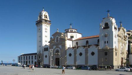 Basilica de la Candelaria en Canarias
