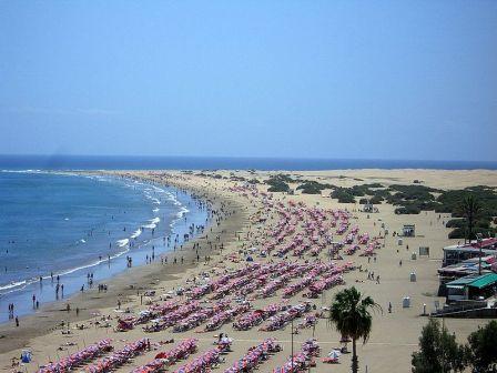 Playa del Inglés. Gran Canaria, Islas Canarias