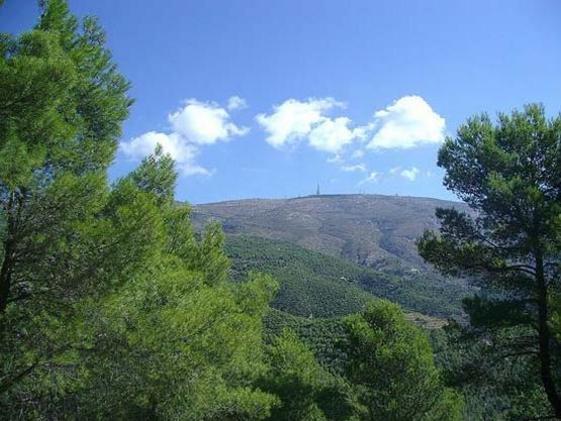 Vista de la Sierra Aitana, Alicante