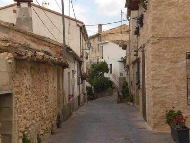 Vista de las calles interiores de Torremanzanas