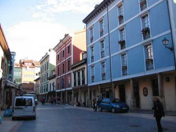 La plaza del Fontán, Oviedo, Asturias