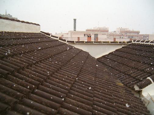 Nieve en Mazarron