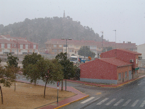 Nieve en Mazarron II
