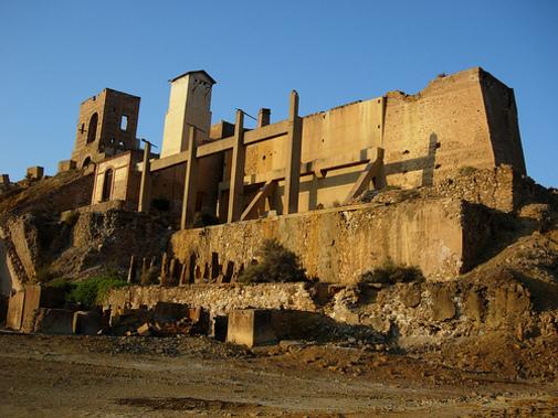 Vista general de Minas de Mazarrón