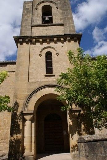 La torre de la iglesia de San Salvador de Lorca.