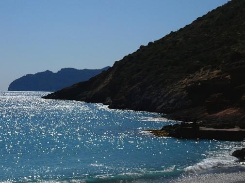 Bahías desde el Portús hasta Cabo Tiñoso.