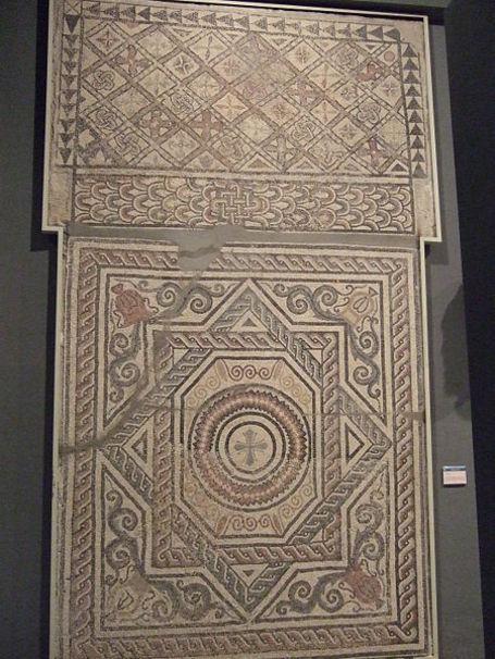 Zaragoza - Museo - Mosaico de villa en Santa Engracia