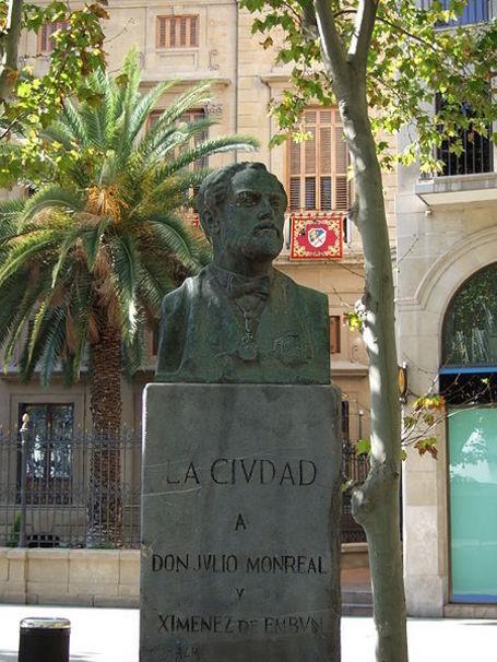 Zaragoza - Julio Monreal y Ximénez de Embún