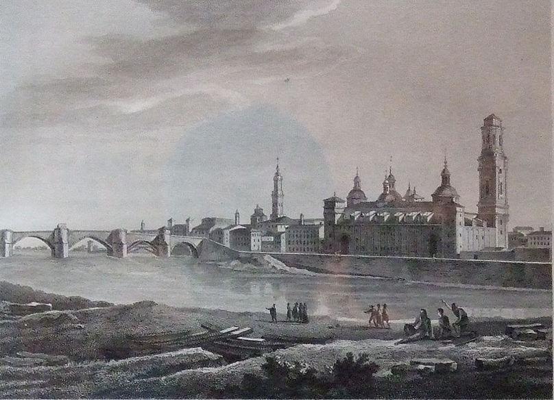 Zaragoza - Vista - El Pilar y el Ebro