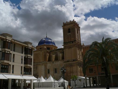Palza de la Basílica Sata María del Elche