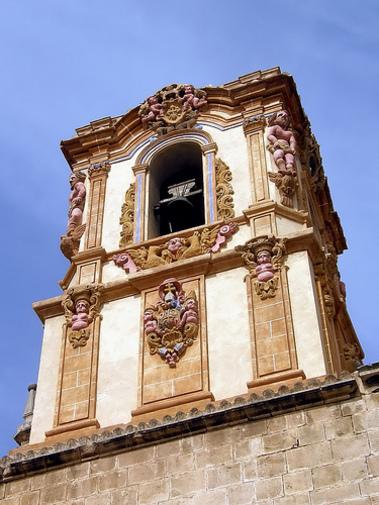 Torre del Colegio Santo Domingo en Orihuela