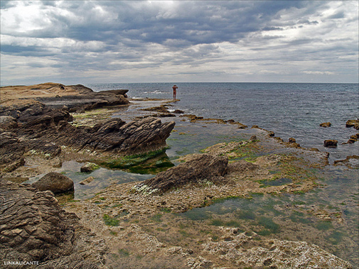 Vista e las Calas de Cabo de las Huertas