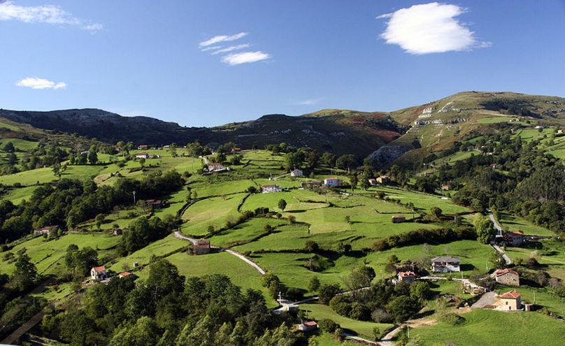 Paisaje Riotuerto, Cantabria