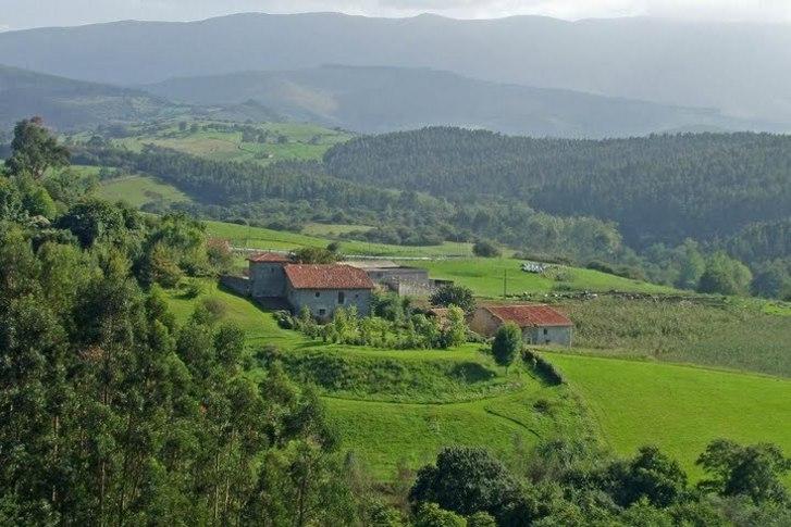 Villacarriedo Paisaje, Cantabria