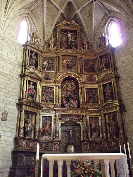 Sádaba - Iglesia de Santa María , Zaragoza