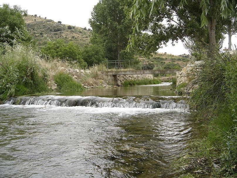 El río Huerva en Vistabella