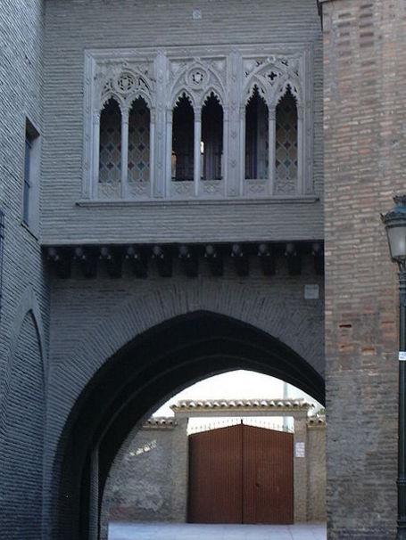 La Seo, Arco del Deán