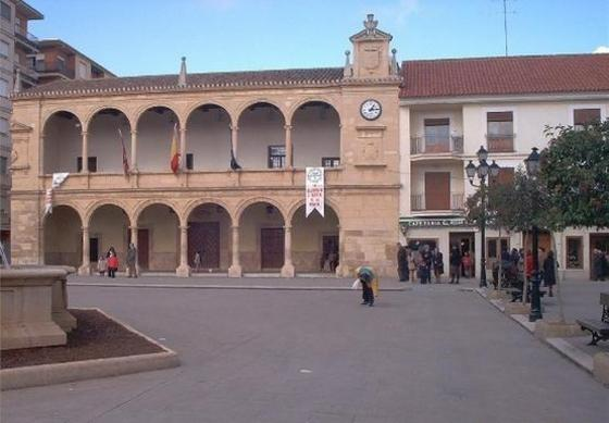 Town hall of Villarrobledo.