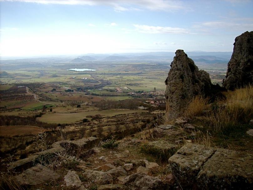 Vista desde el Castillo de Loarre