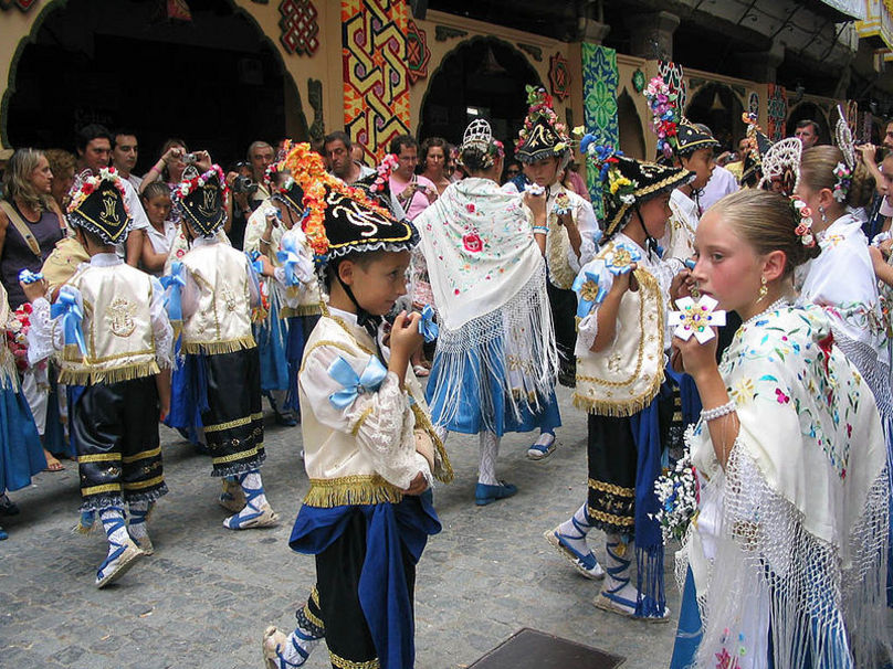 Danza de los Labradores (Llauradors) en el Sexenio de Morella
