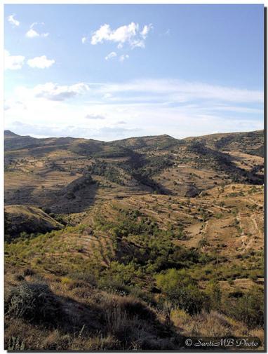 Vista general de los Puertos de Morella