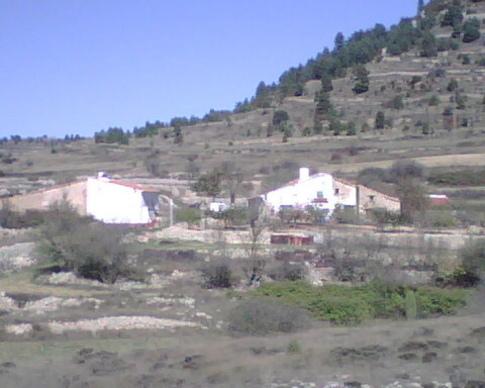 Vista de el pueblo de el Castell de Cabres