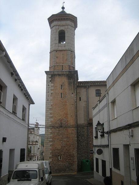 Campanario de la iglesia de Santa Magdalena de Polpís