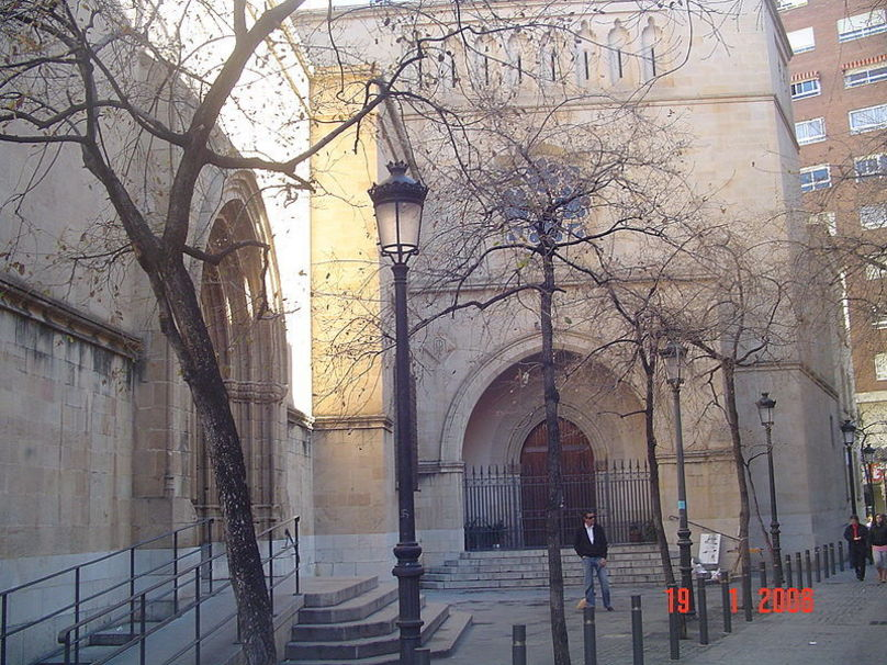 Entrada lateral a la Concatedral de Santa María de Castellón de la Plana