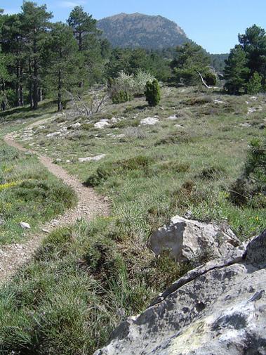Rutas de los senderos de Peñagolosa